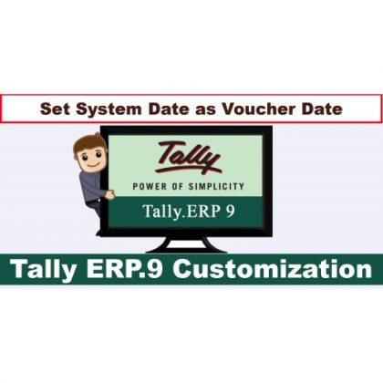 Auto System Date In Voucher