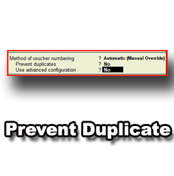 Prevent Duplicate